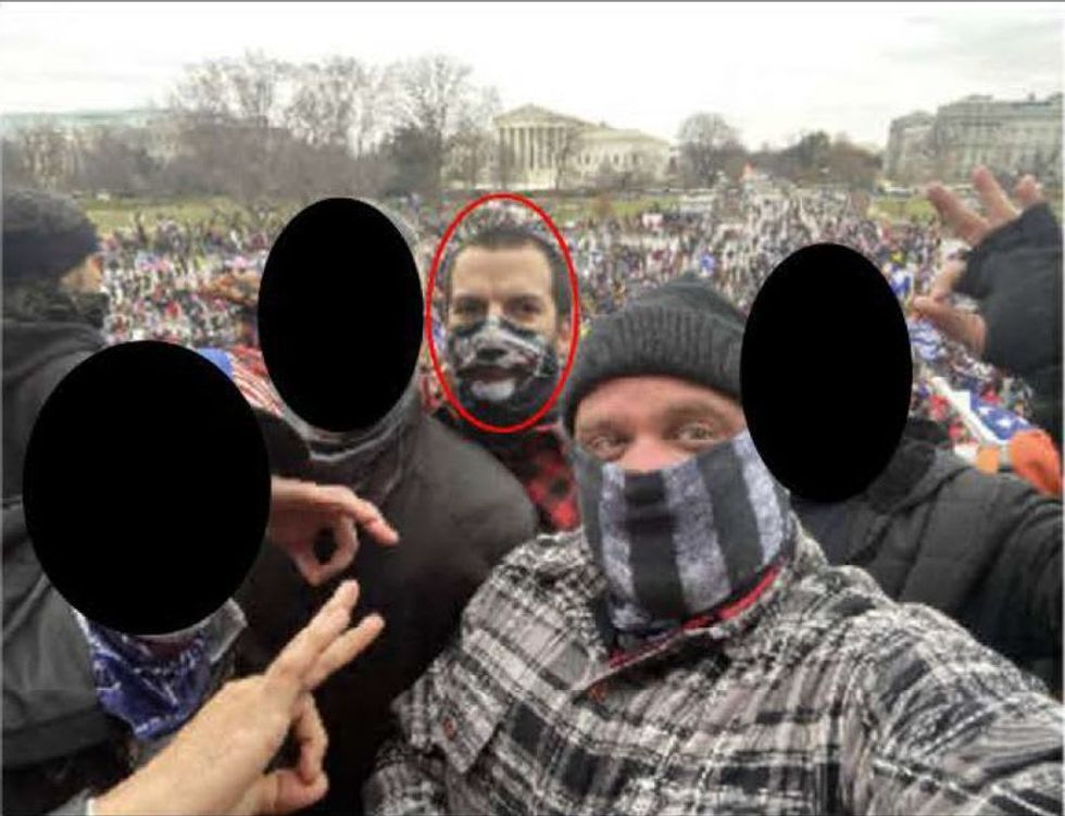 Proud Boys member, married to Florida deputy, accused of participating in US Capitol riot