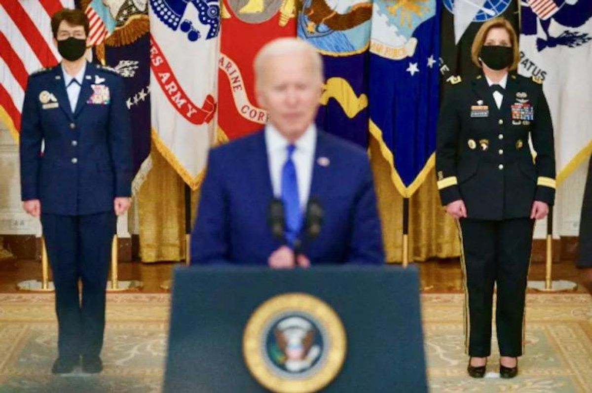 Biden names two women generals to lead military commands
