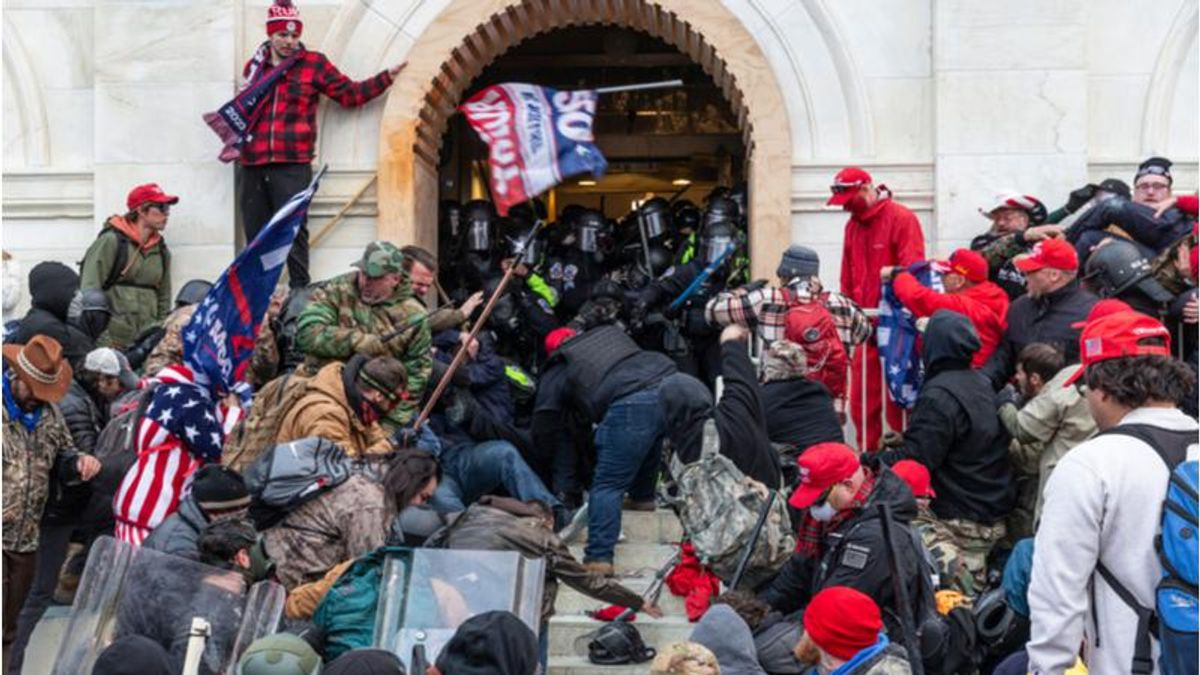 Capitol rioter's position in the Trump administration might come back to haunt him