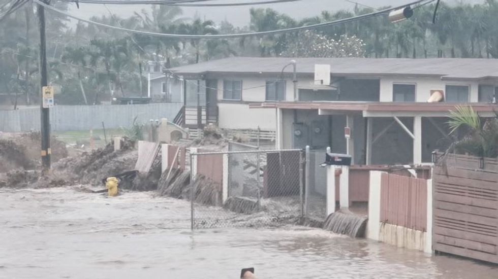 Hawaii declares state of emergency after rains cause floods