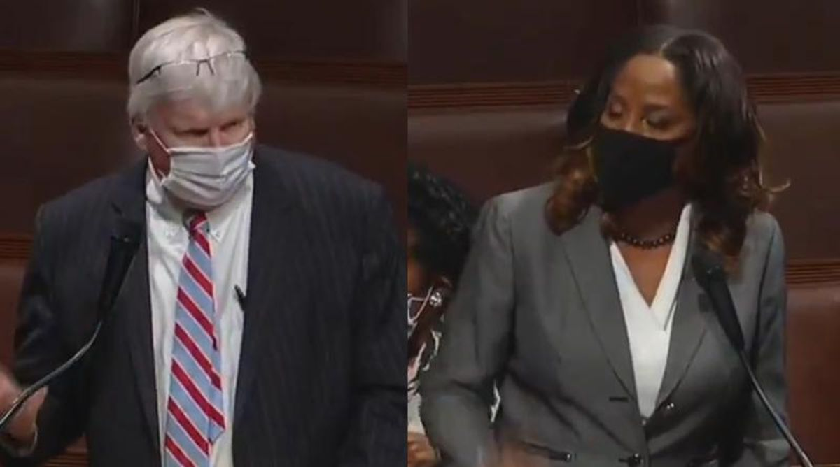 WATCH: Dem lawmaker confronts Republican for attack on Black Lives Matter on House floor