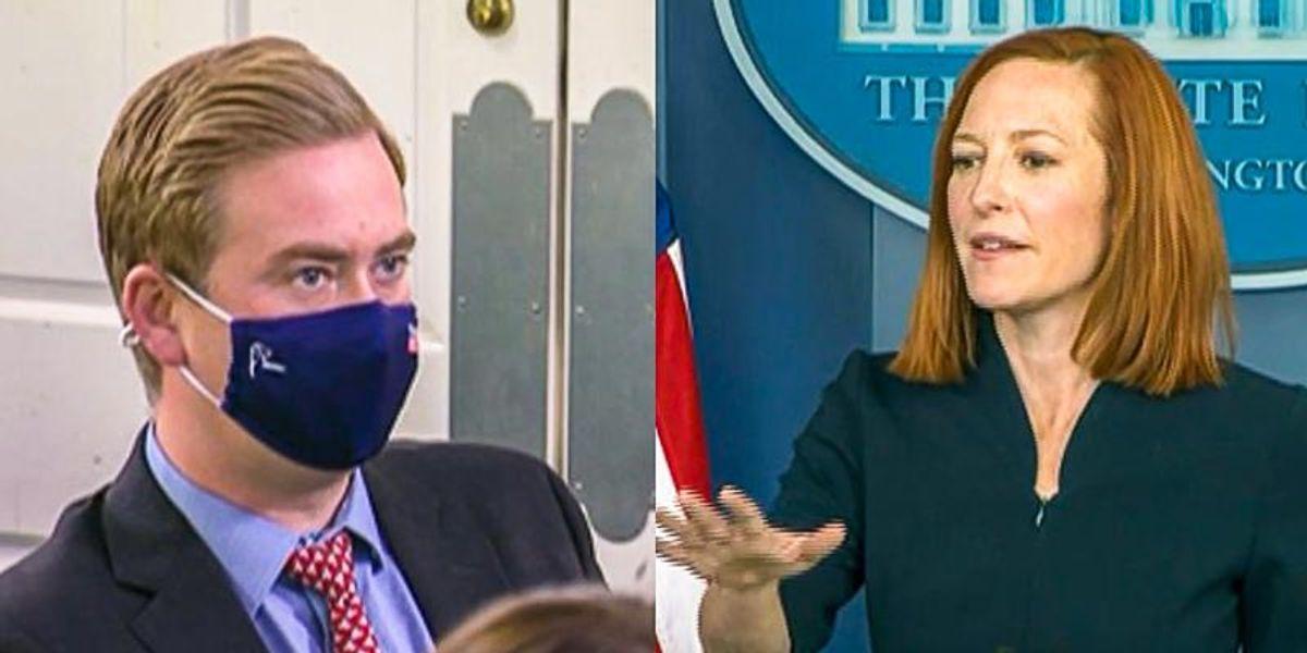Jen Psaki dismantles Peter Doocy's migrant fixation: 'The last administration had a morality problem'