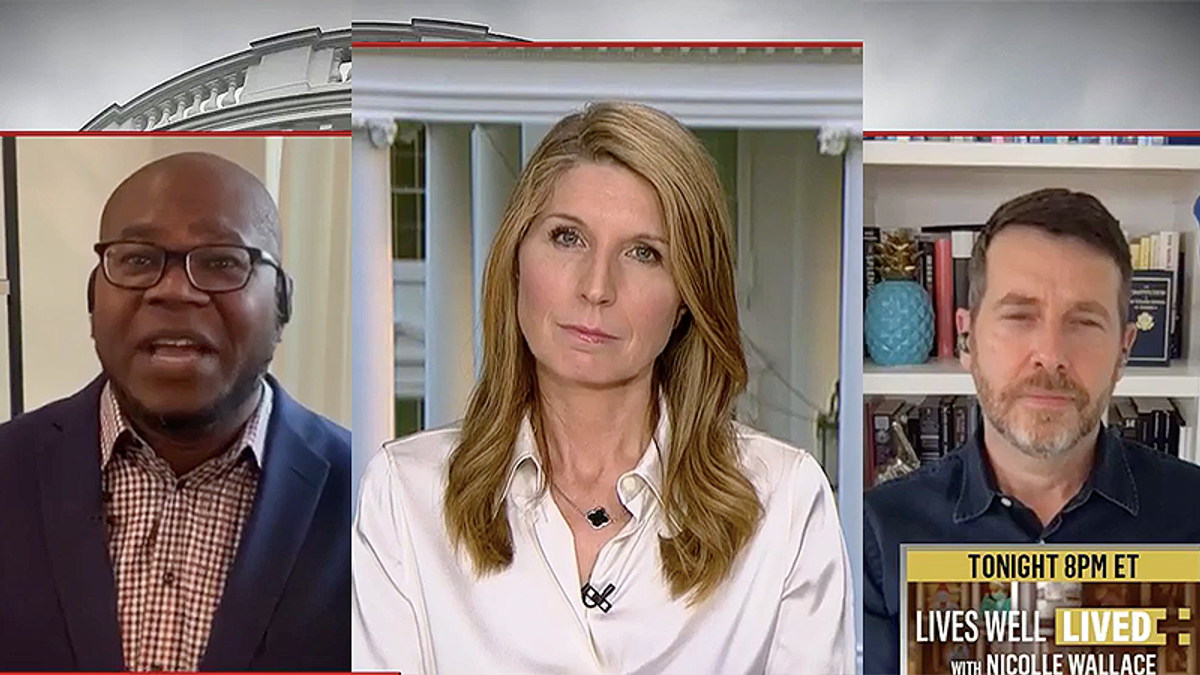 Nicolle Wallace panel nails Trump officials demanding credit for Biden COVID success: 'He made things worse!'