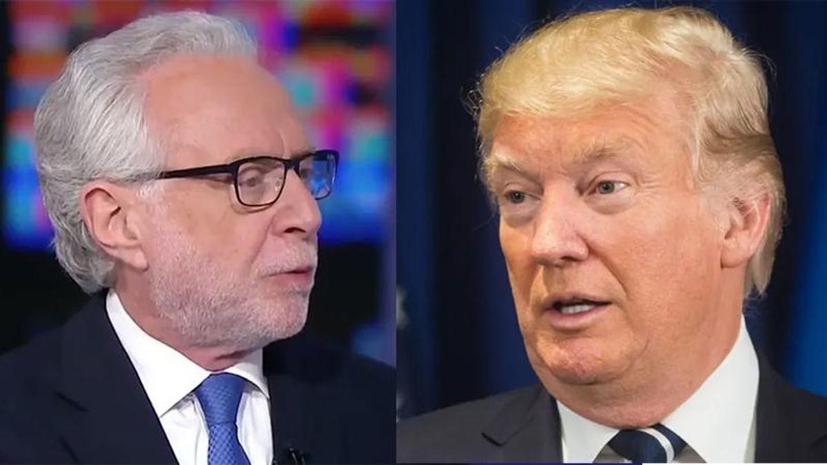 CNN's Blitzer mocks Donald Trump for claim Biden would kill stock market — as Dow hits record high