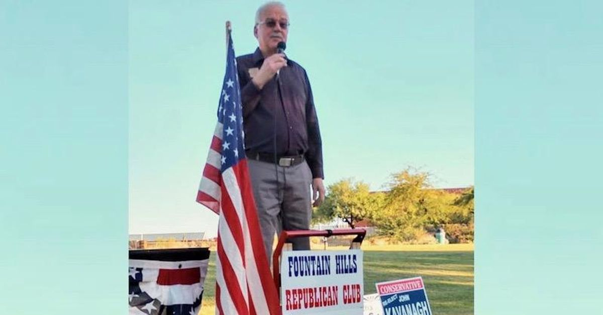 'Straight out of Jim Crow': Voting rights expert blasts AZ Republican who says 'everybody shouldn't be voting'