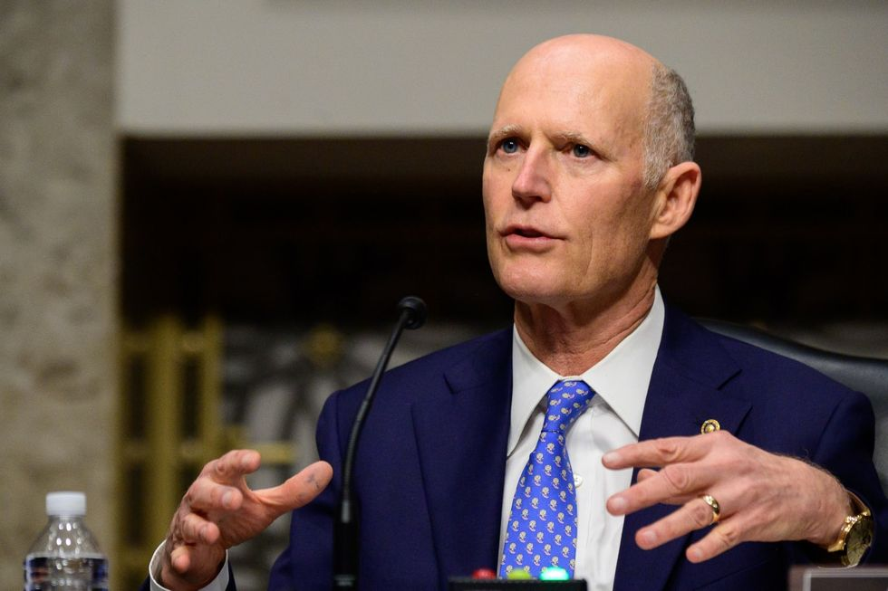 Florida Sen. Rick Scott is heading to Mar-a-Lago -- here's what he'll say to Trump