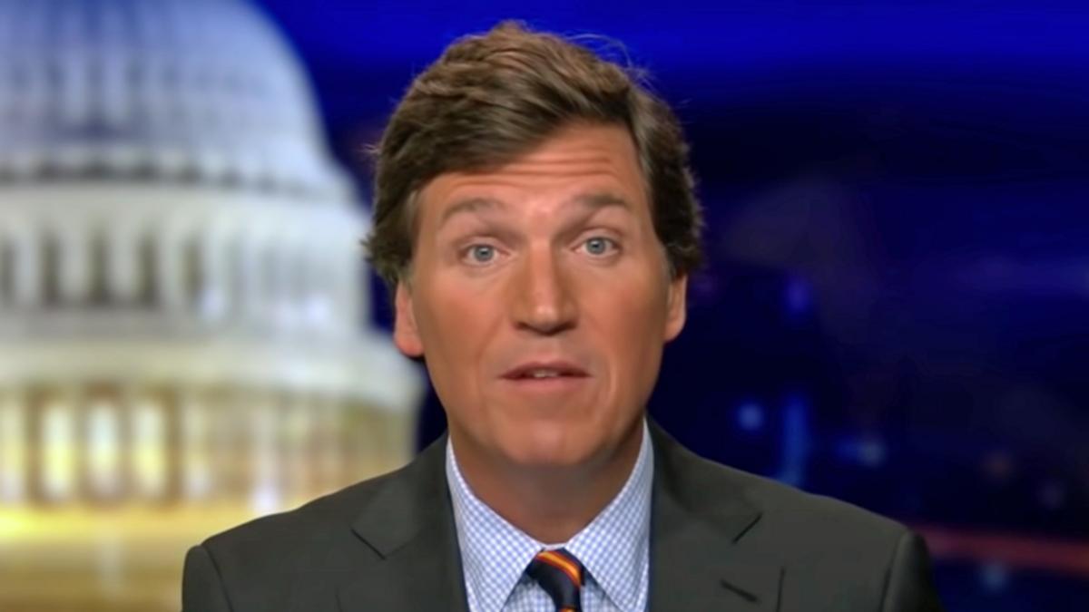 Tucker Carlson is absolutely losing it