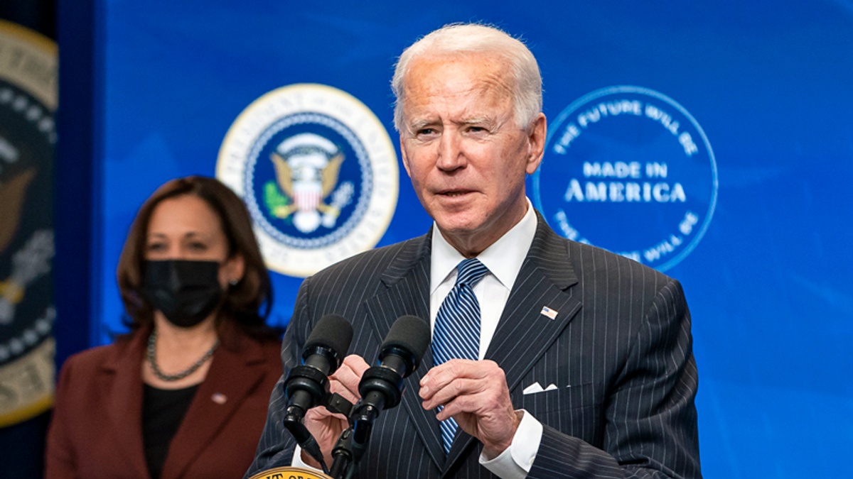 WATCH: Joe Biden gives first prime-time address on his 50th day in office