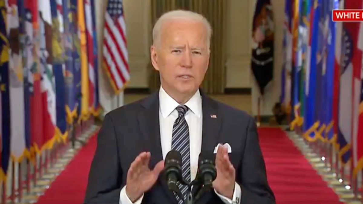 Biden slams Trump -- and asks Americans to 'do your part' -- in first national address