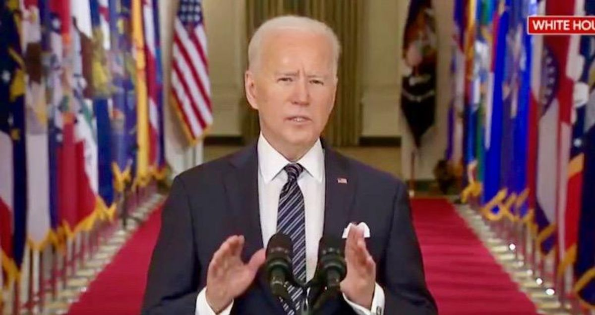 Biden in first national address slams Trump, offers help, health, hope and asks Americans to 'do your part'