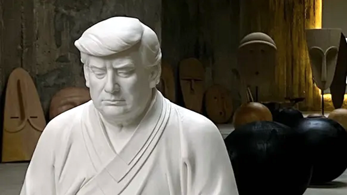 Trump as Buddha? Ex-president unlikely inspiration for Chinese novelty statues