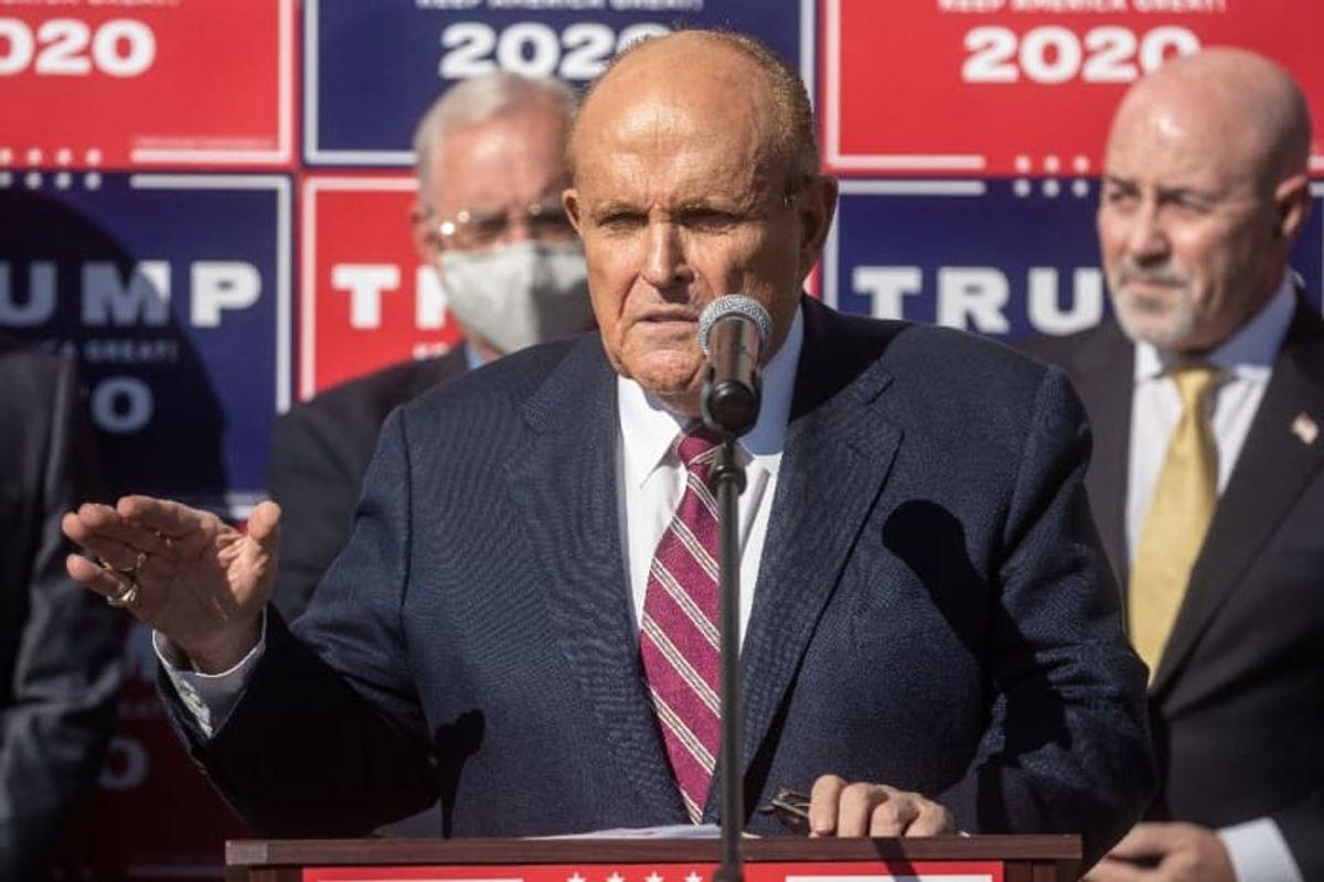 Rudy Giuliani earns two Razzie nominations for 'Borat'