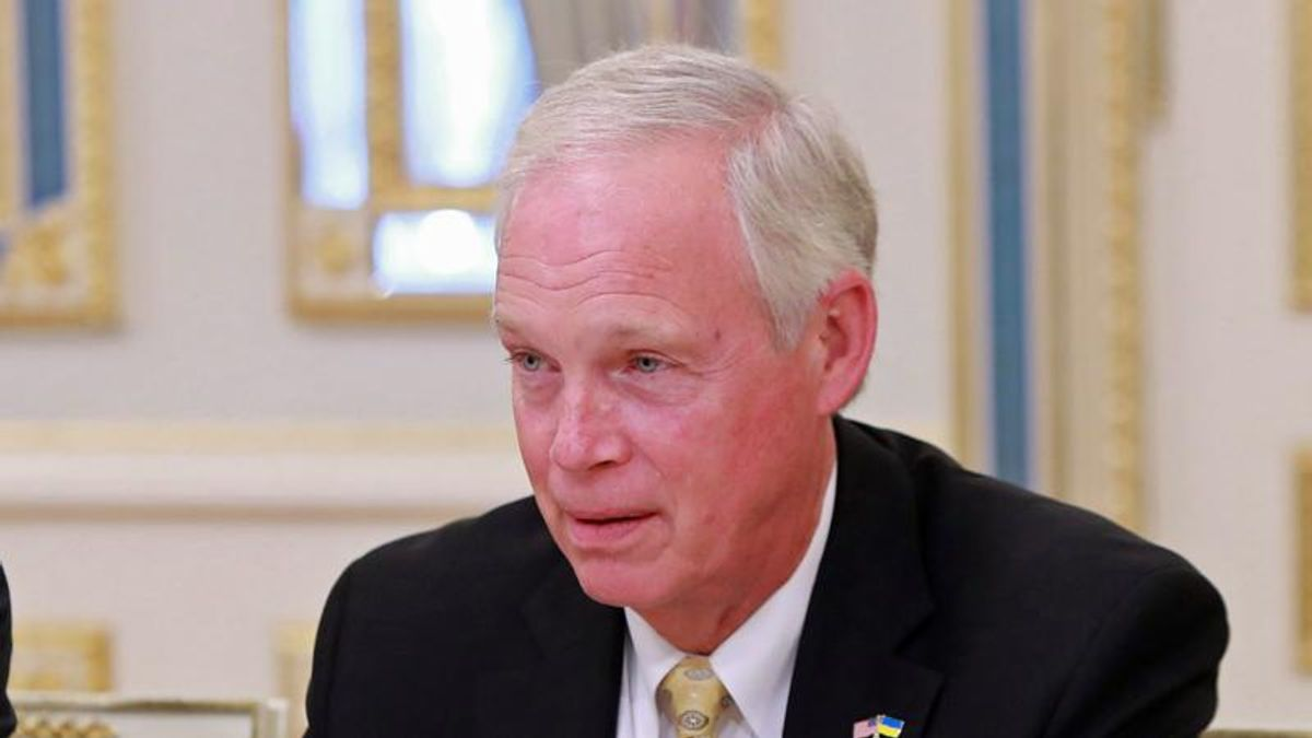 Ron Johnson confesses he didn't think Wisconsin voters deserved pandemic survival checks