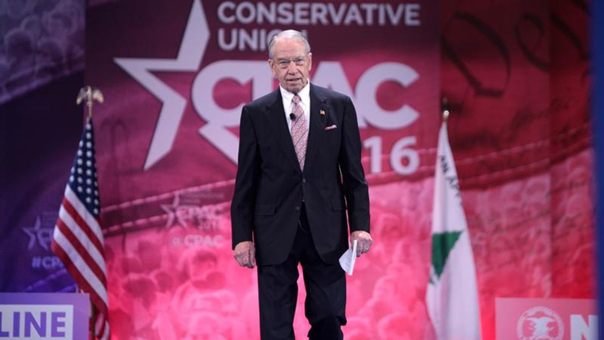 Iowa voters think Chuck Grassley's six decades in office is long enough