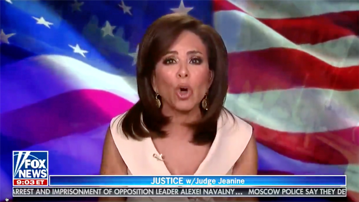 WATCH: Jeanine Pirro wants the government to find out who has an alcohol problem