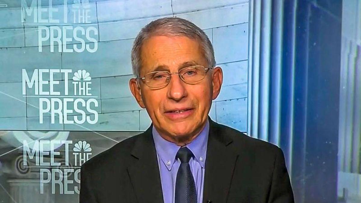 'No-brainer': Dr. Fauci reveals 'disturbing' trend of Trump voters rejecting COVID vaccines