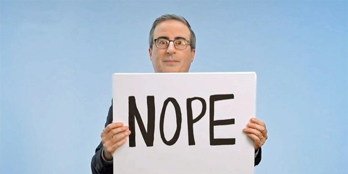 John Oliver destroys Republicans with hilarious take-down of Mitch McConnell