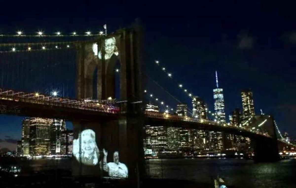 New York City pays emotional tribute to more than 30,000 Covid deaths