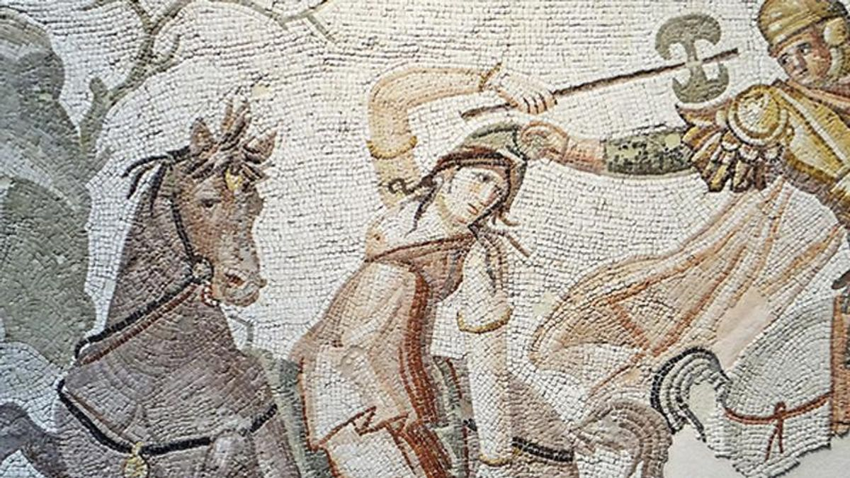 The long history of women warriors