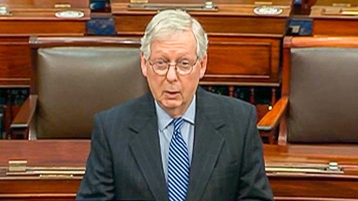 Mitch McConnell tantrum vows 'scorched-earth' if Dems bypass filibuster to expand voting rights