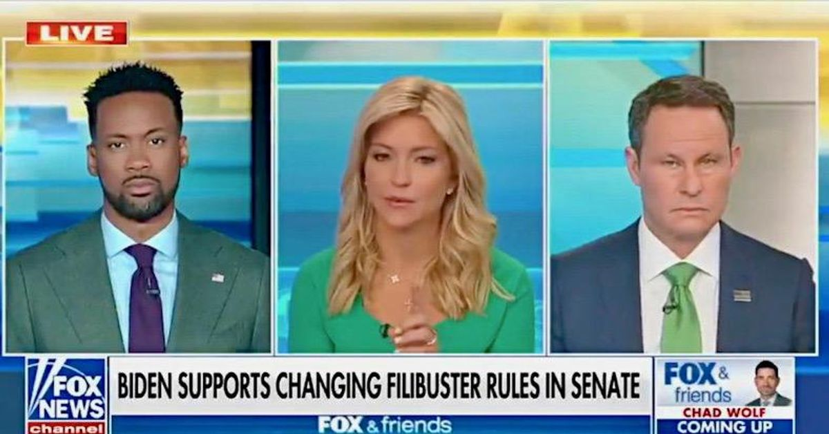 Fox & Friends filibuster freakout: If they end it 'Democrats will rule our country forever'