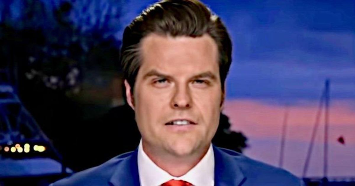 'Complete smokescreen': Matt Gaetz slammed with 'Four Pinocchios' for claim records prove he didn't travel with 17-year old