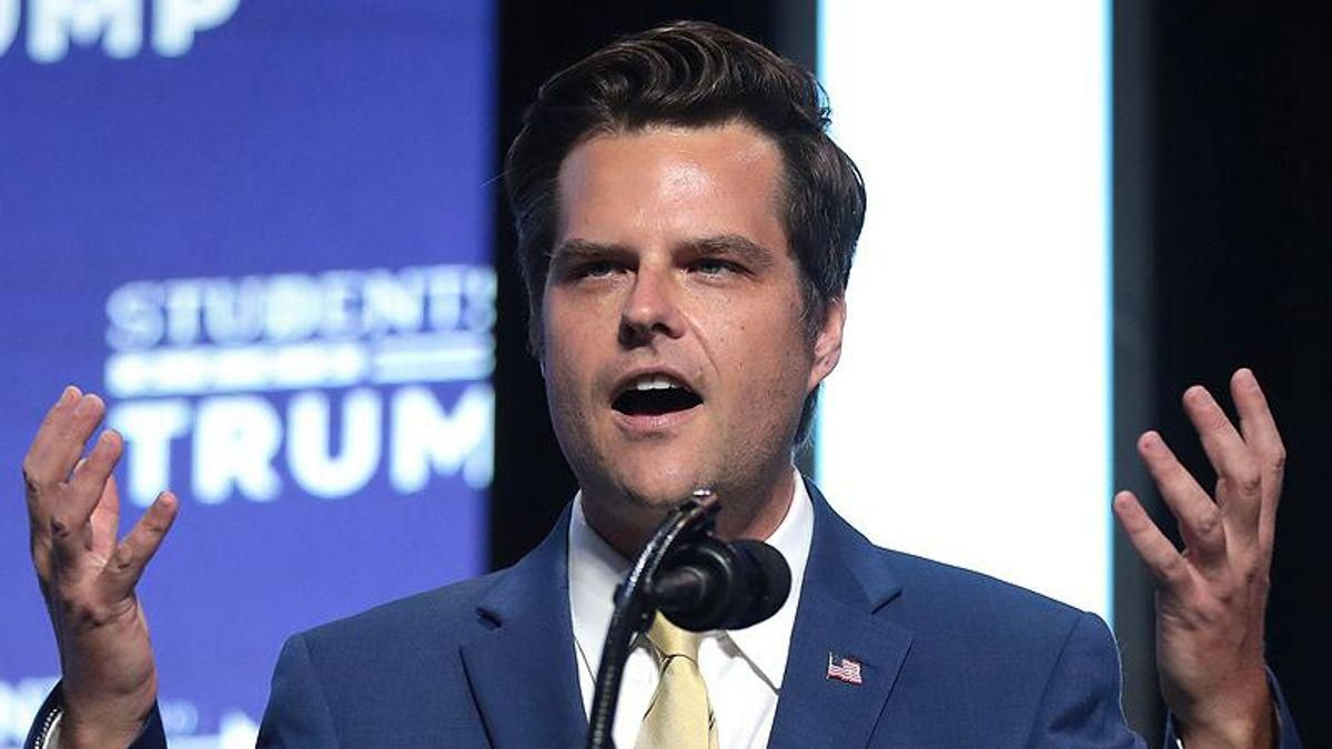 'He's running scared': Matt Gaetz buried in mockery after his alibi gets destroyed by fact checker