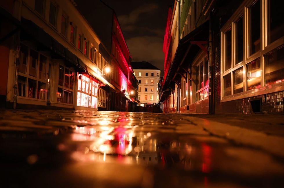 The lights are out in Germany's infamous party and red-light district
