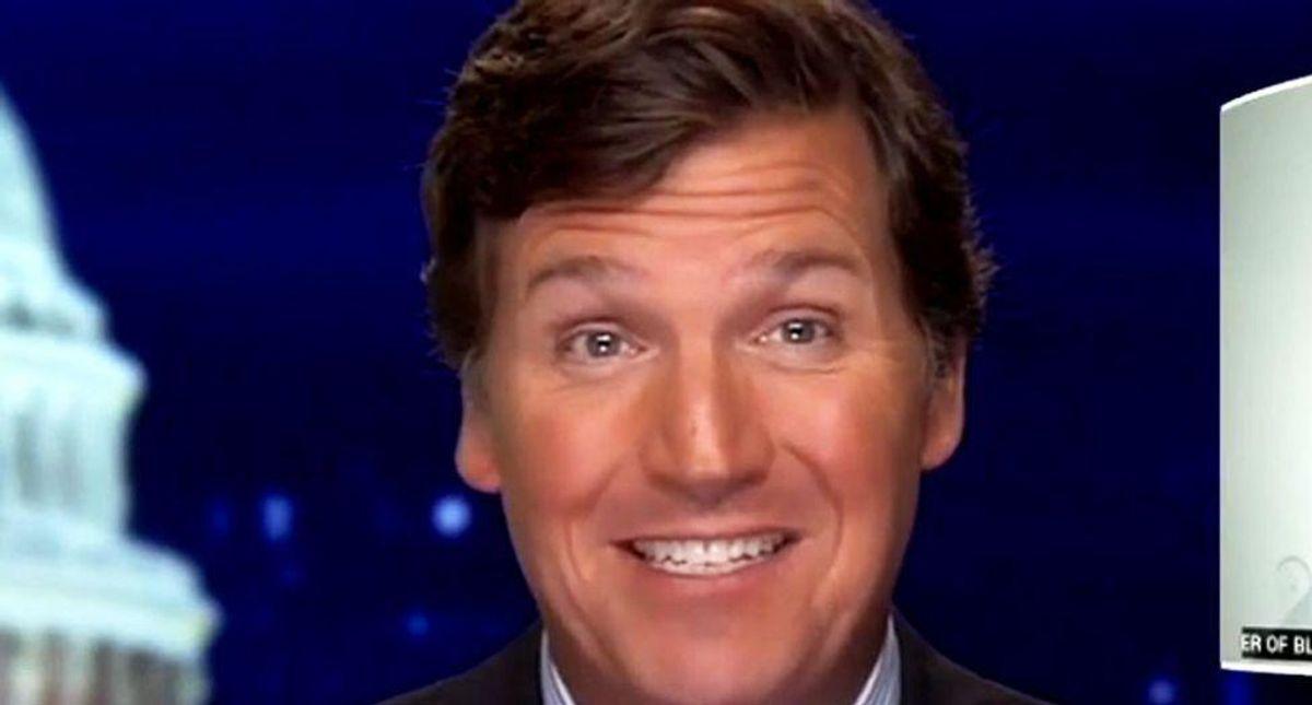Fox News host Tucker Carlson smears AOC as a 'low-IQ race-baiter'
