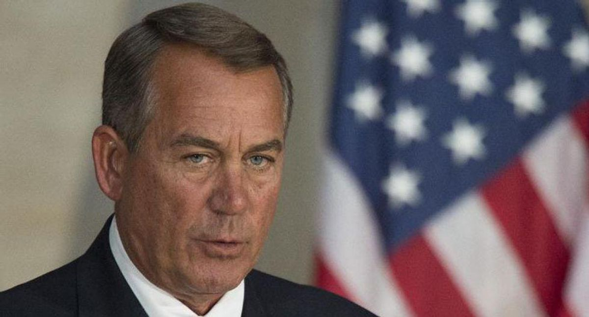 John Boehner unloads on GOP lawmakers who only came to DC to make money and get on Hannity