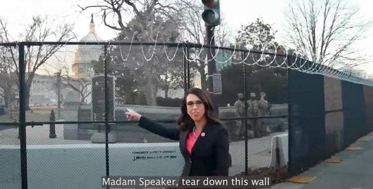 'What is the sedition caucus saying now?': GOP slammed for demanding Capitol fencing be removed after latest deadly attack