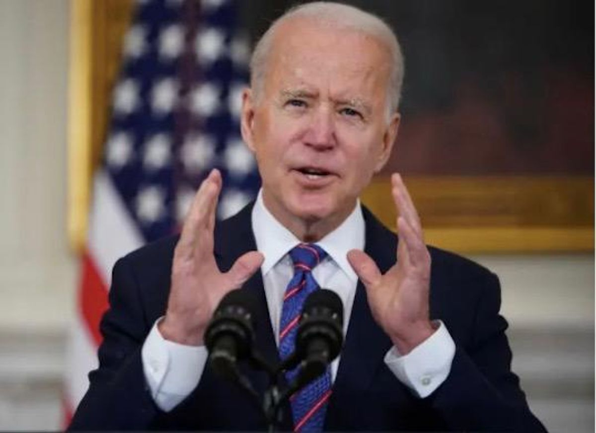 Biden hails rebounding jobs numbers as source of 'hope' for the future