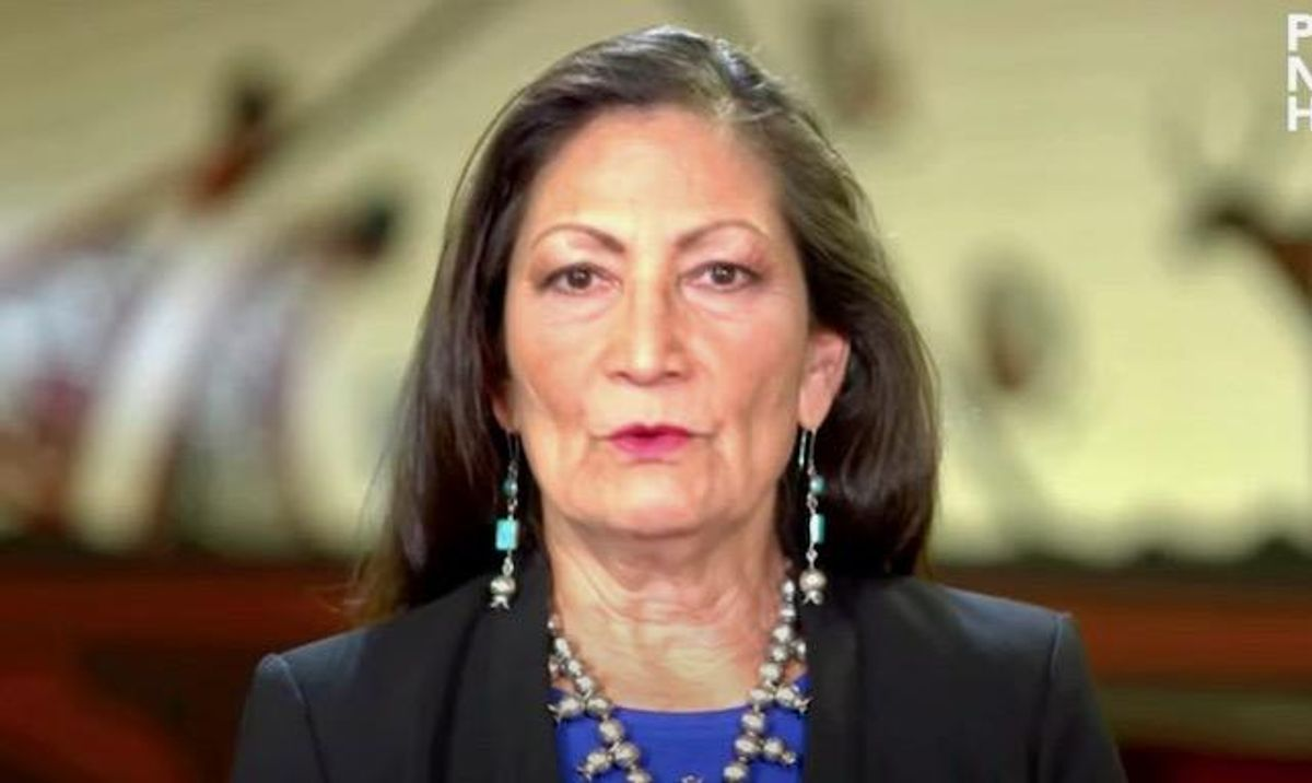 Interior Secretary Deb Haaland  announces new missing and murdered indigenous unit at Interior