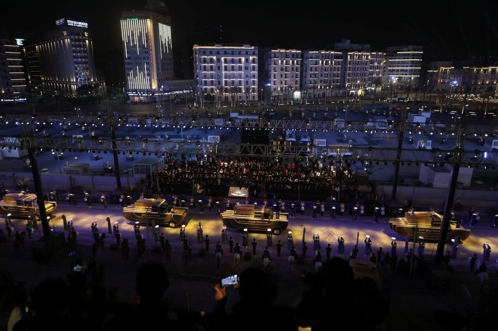 Egypt parades trove of ancient royal mummies on Cairo's streets