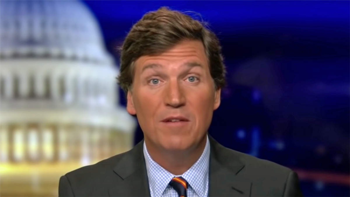 Tucker Carlson complains Capitol rioters are being treated too harshly