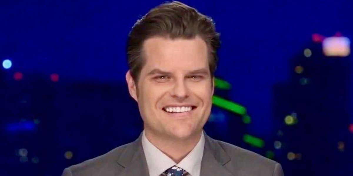 Law school lecturer explains just how much trouble Matt Gaetz could be in