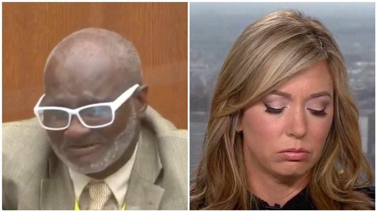 CNN's Brooke Baldwin breaks down in tears after watching bystander's emotional testimony at Derek Chauvin trial