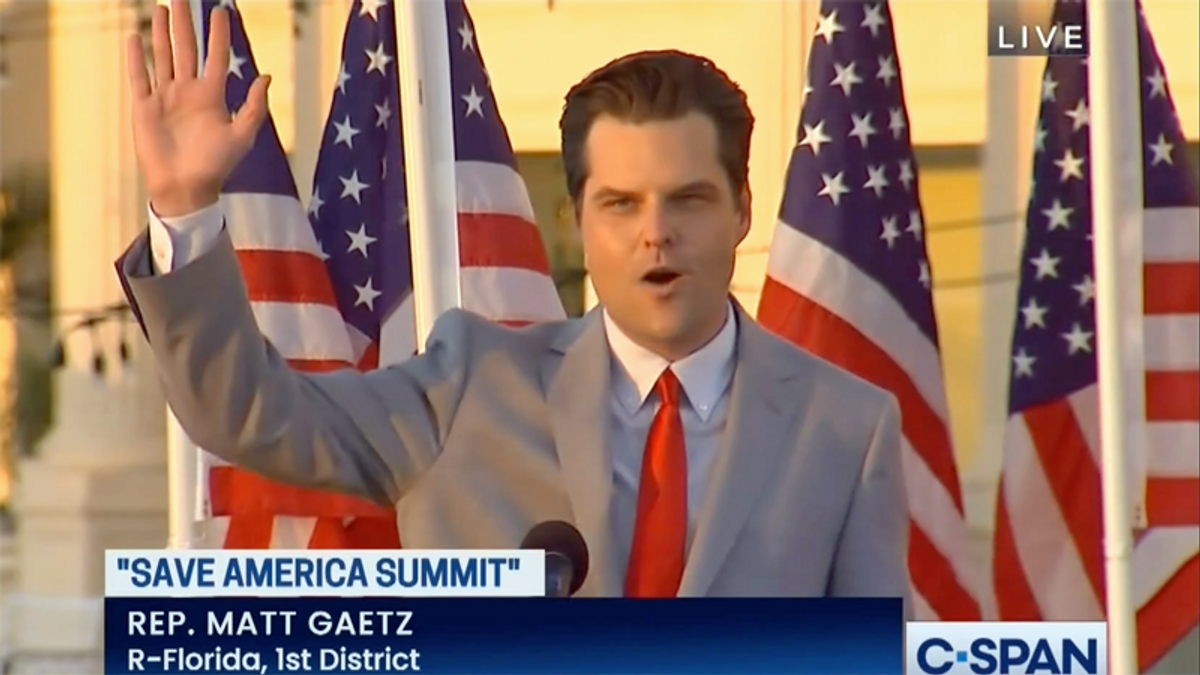 Scandal-plagued Matt Gaetz wanted a meeting with Trump at Mar-a-Lago -- and got denied: CNN
