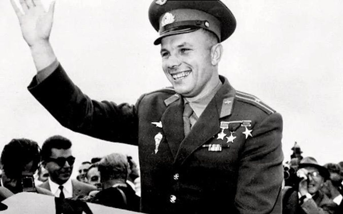 Russians celebrate 60 years since Gagarin's spaceflight