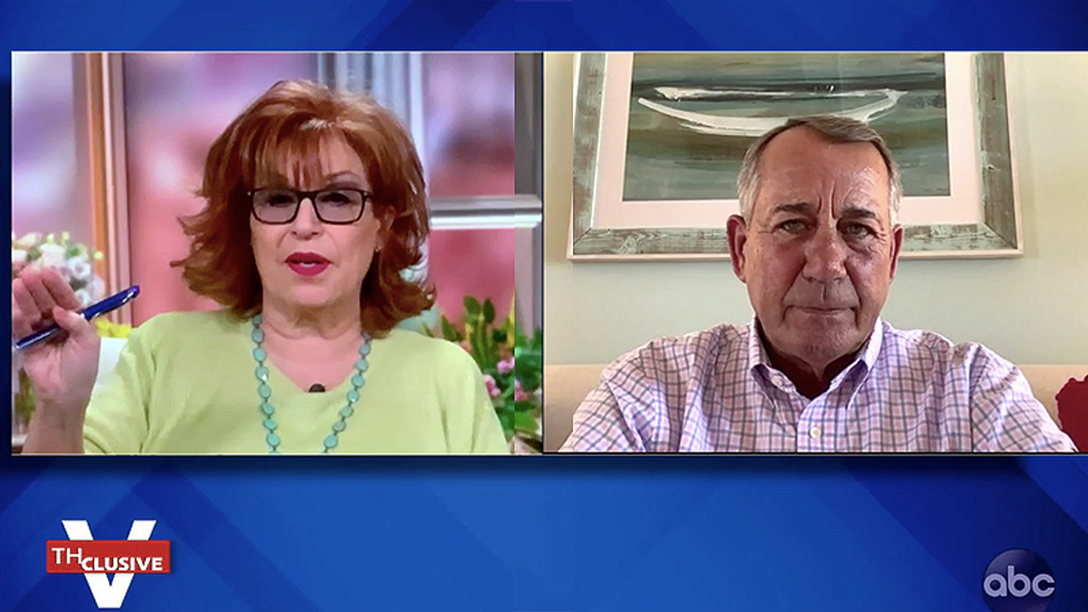 'Lucifer in the flesh': John Boehner steps up attacks on Ted Cruz during The View