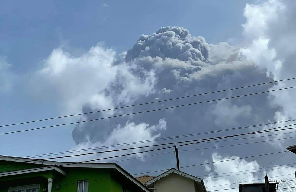 'It was indeed terrible.' Officials in St. Vincent get look at volcano destruction