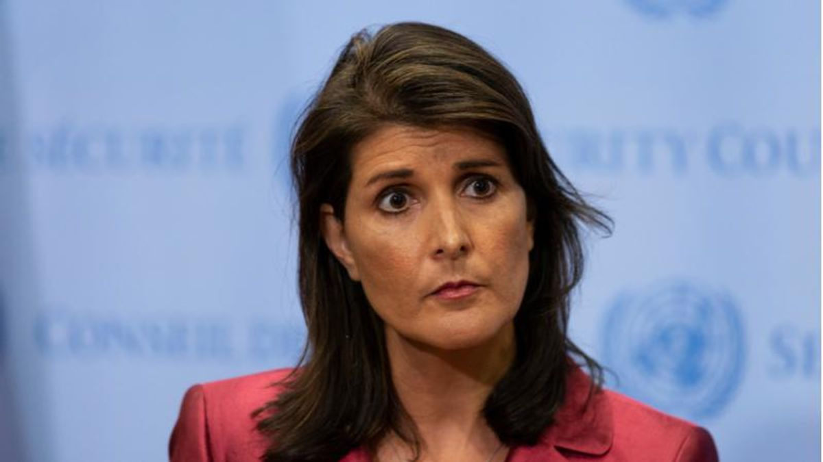 Nikki Haley flip-flops again and is back to supporting Trump -- and would back him in 2024