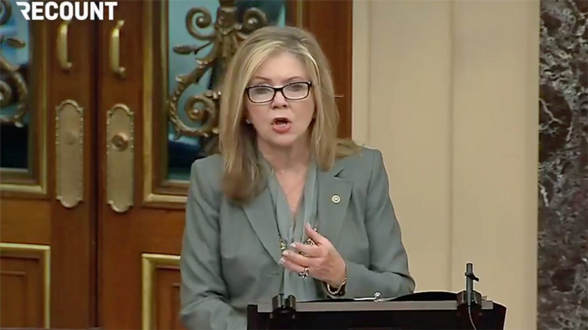 Marsha Blackburn attacks Biden as Tennessee grieves after school shooting in Knoxville