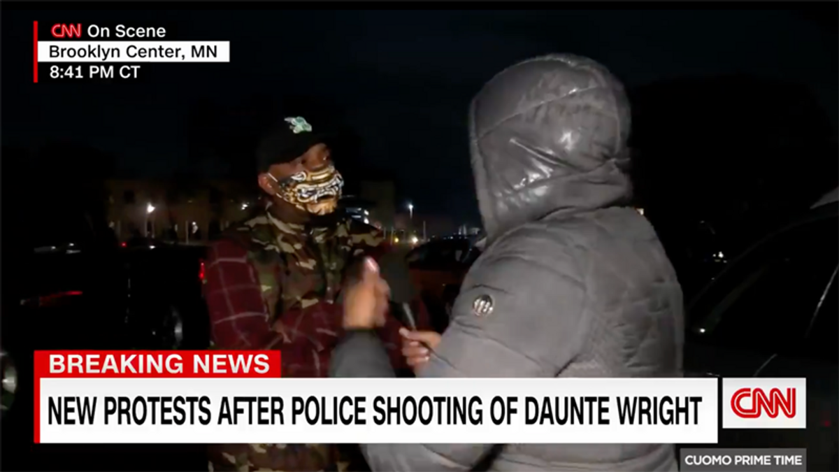 WATCH: Tense moments in Minneapolis as reporters confronted by protesters on live TV