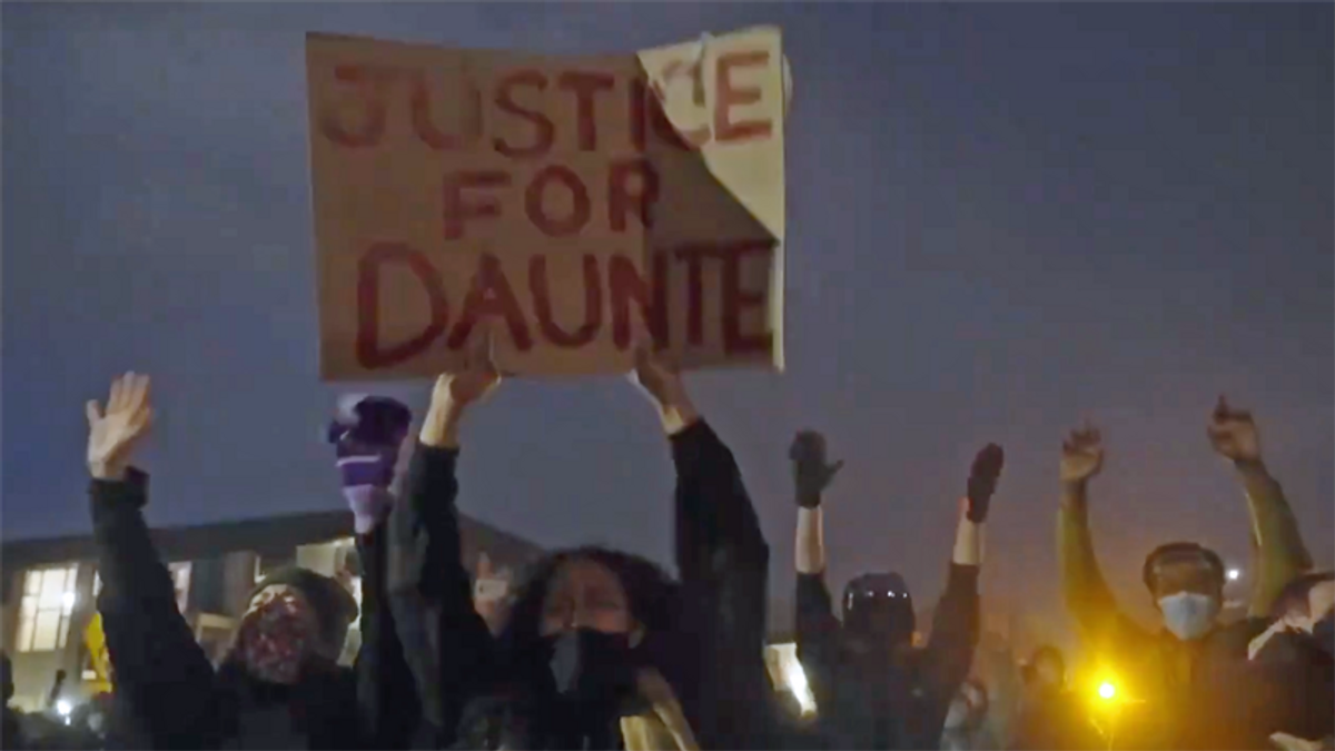 Daunte Wright killed by cop union president: report