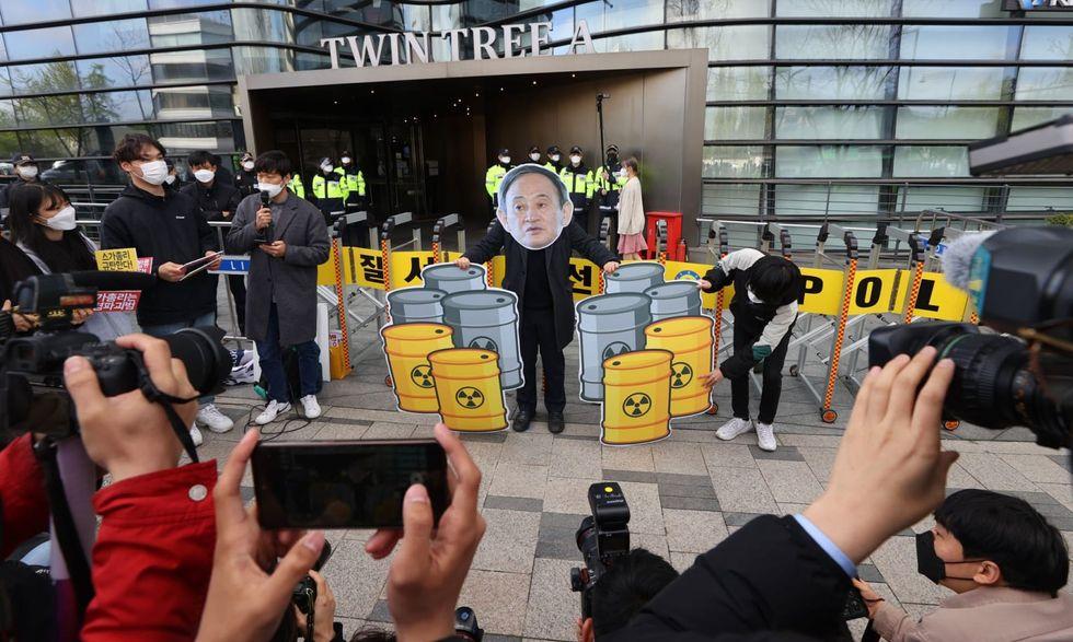 Japan decides to dump Fukushima water into sea despite opposition