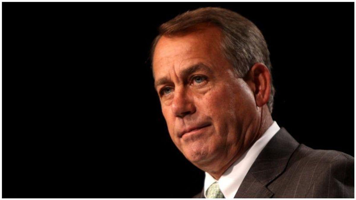 'Morally bankrupt' John Boehner faces brutal backlash after he reveals he voted to re-elect Trump