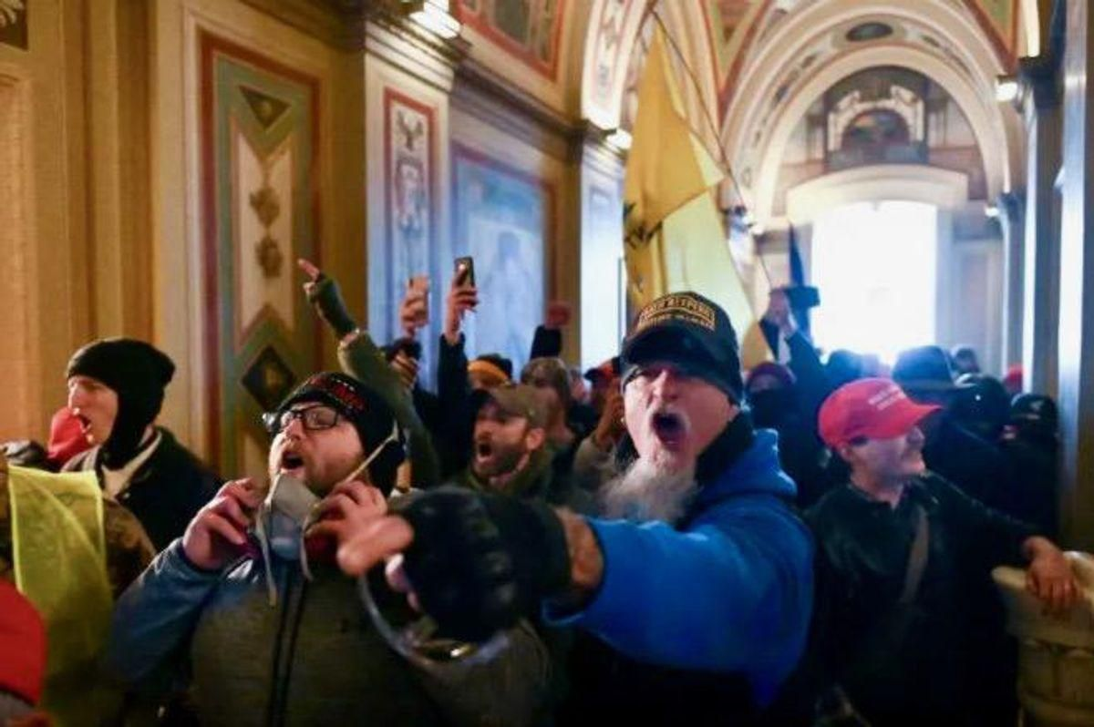 Judges are being shown 'grisly' videos of MAGA mob dragging Capitol cops that have yet to be seen by public