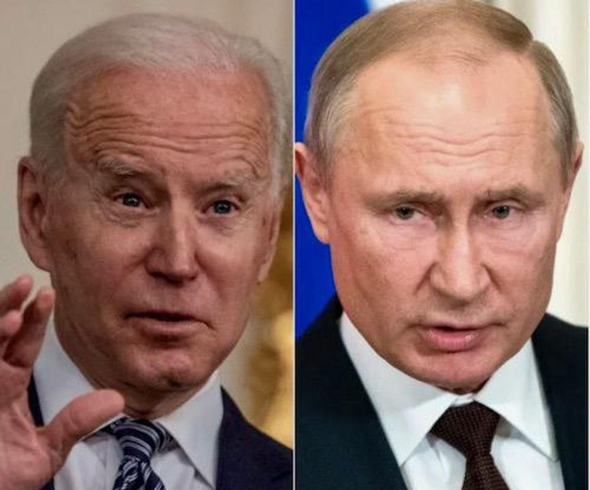 Biden urges Putin to ease Ukraine tensions