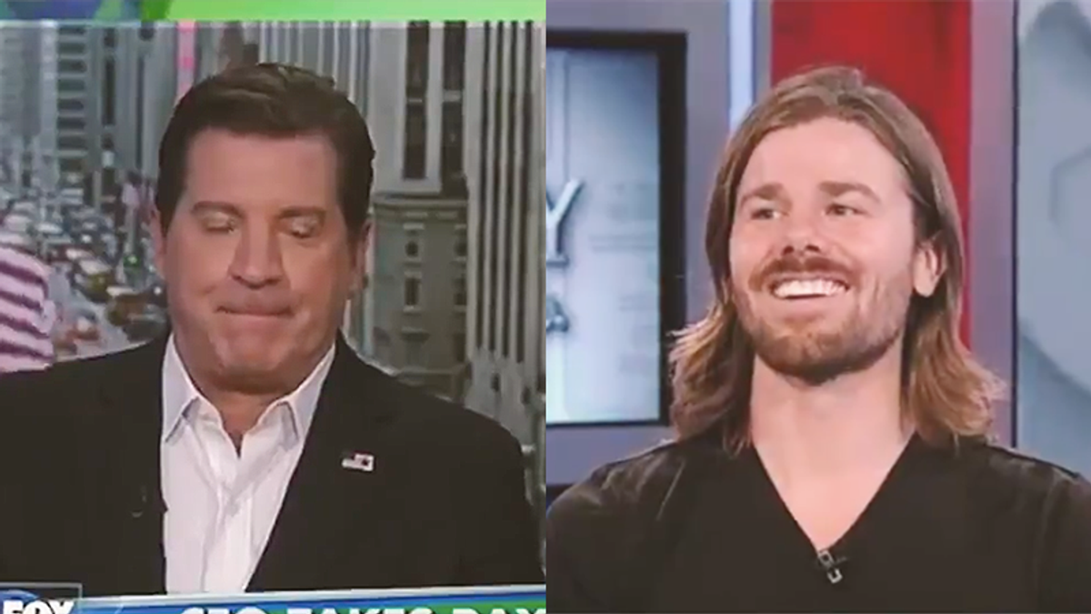 CEO makes video owning Fox News after they called him a socialist and predicted his company would fail